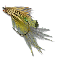 Silvey's Edible Caddis Emerger - Olive #14
