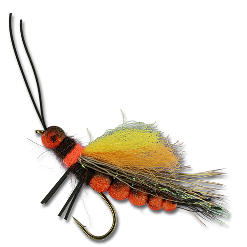 Mercer's Flush Floater Foam Stone - Salmonfly #4