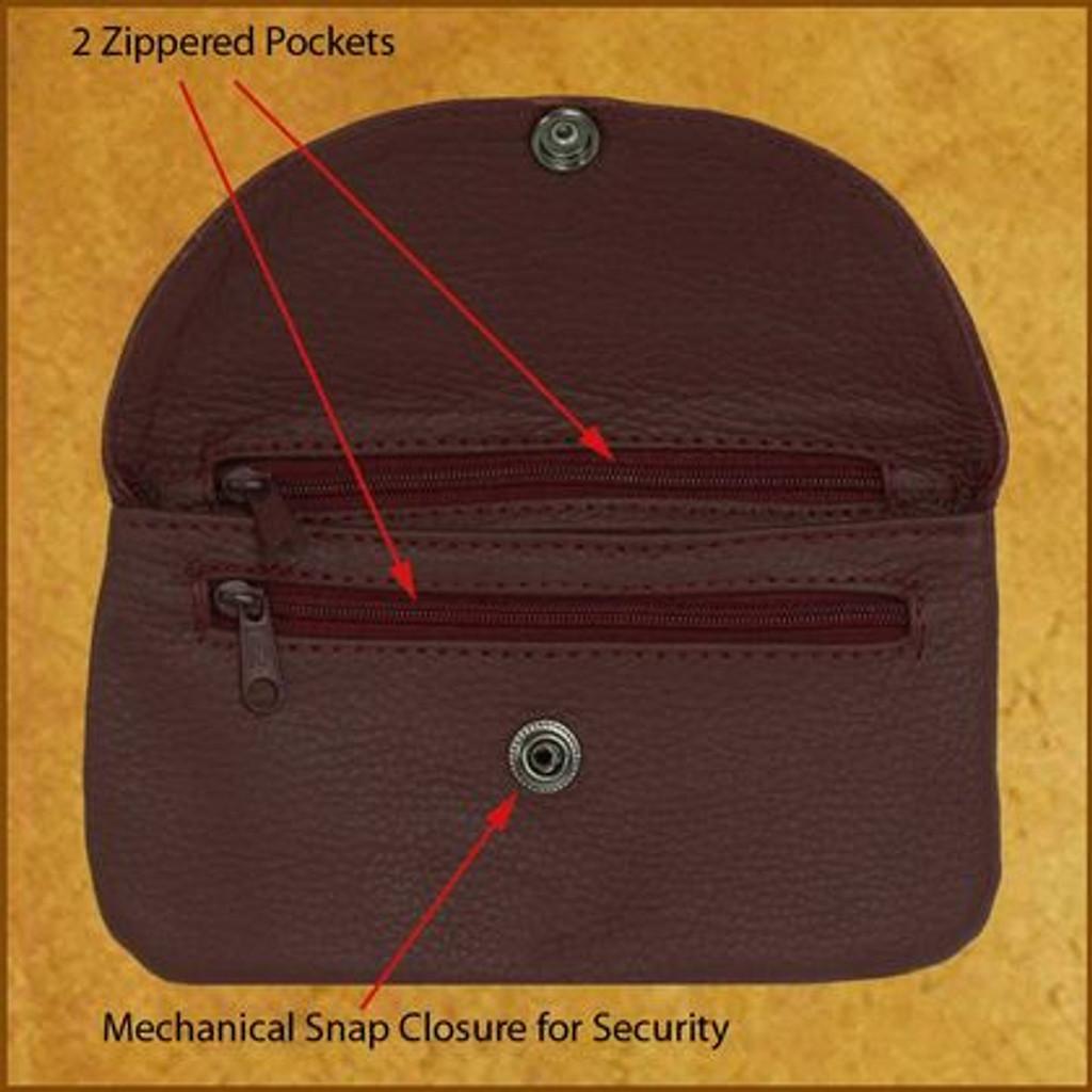 2 Zip Soft Clutch