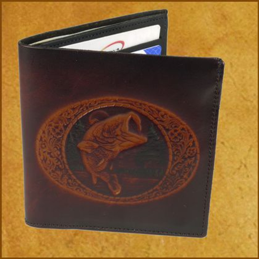 Tooled 2 fold C-C Wallet