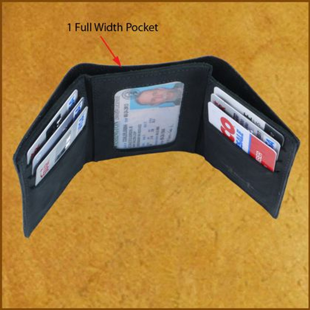 Trifold Credit Card Wallet