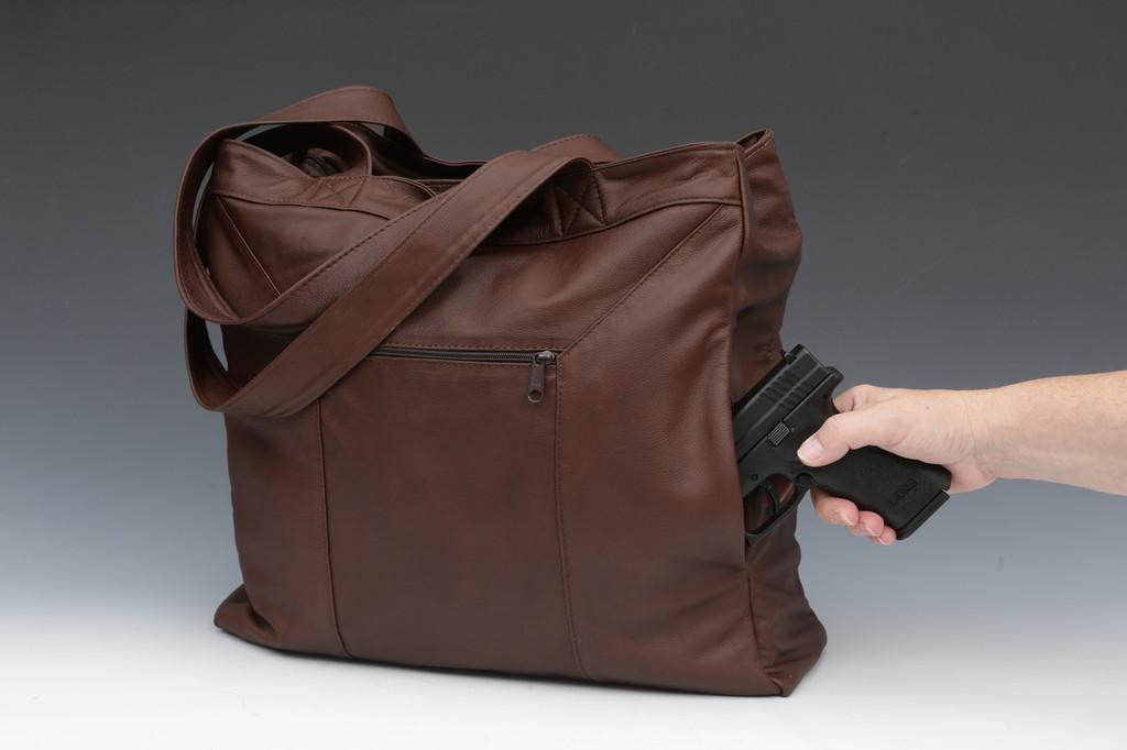 Double Super Tote Concealment Bag