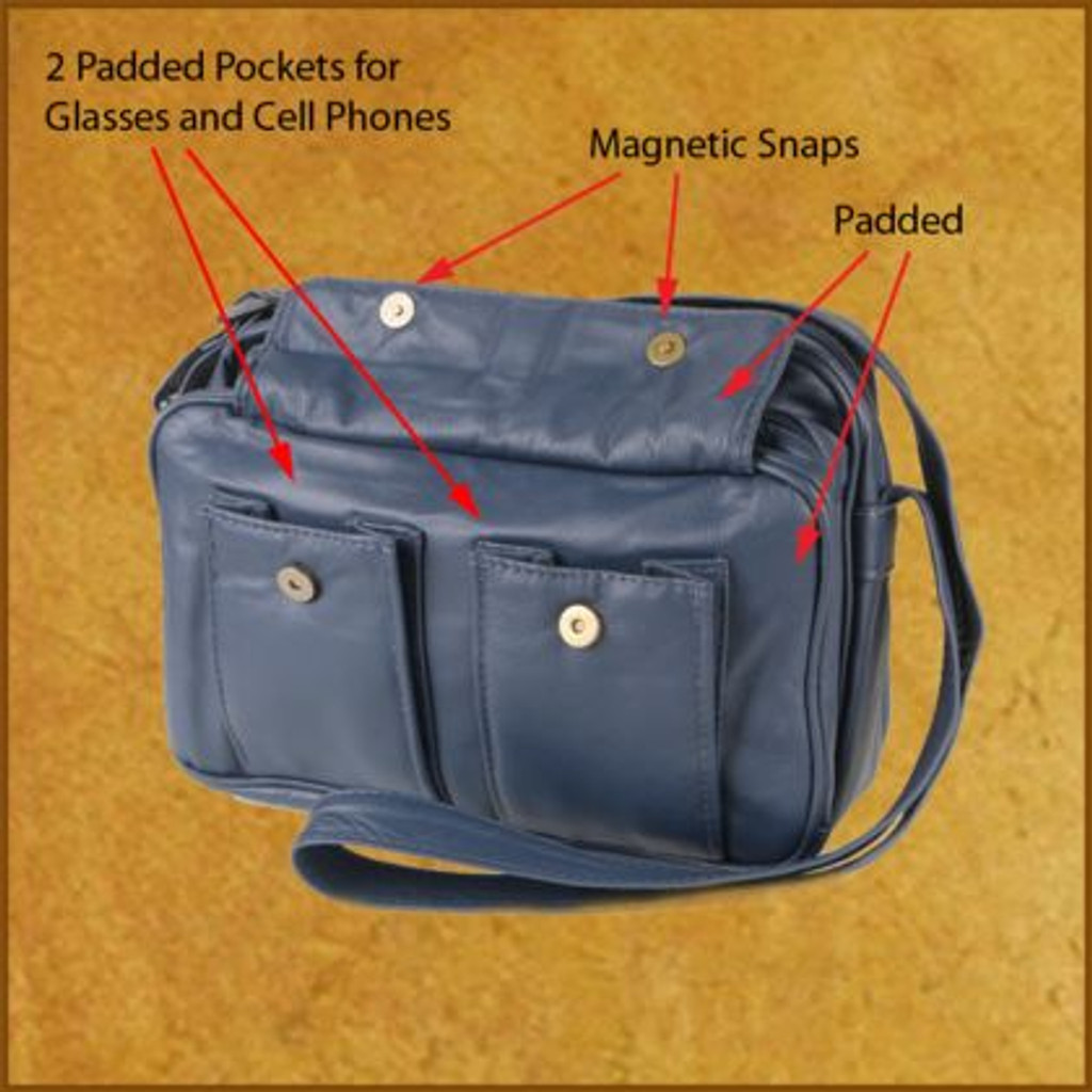 Whidbey Organizer ~  Red, Purple Only
