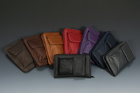 Padded Zippered Wallet with  Cell Phone Pocket