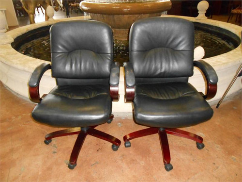 used black mid back caster chairs orlando office furniture