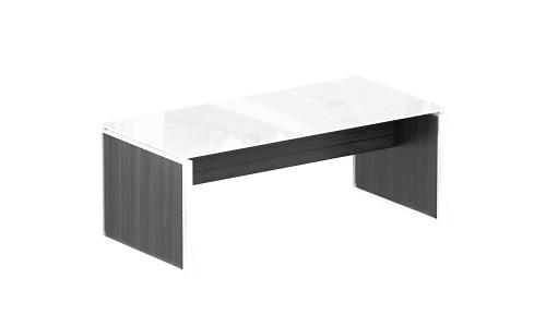 Coffee Table U2013 White Glass Top