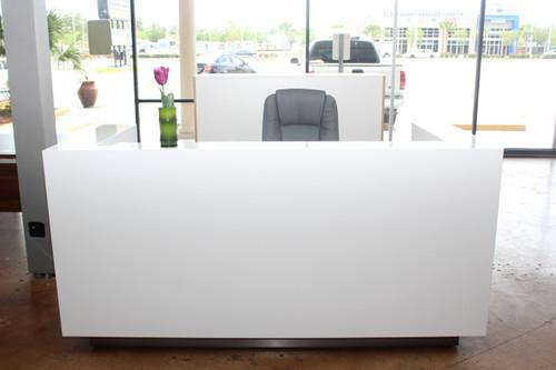 ice modern reception desk