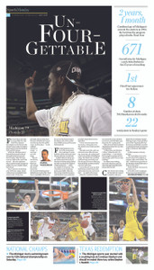 April 1, 2013 Sports Monday Front Page