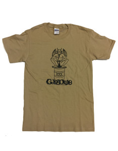 Gargoyle Tan Short Sleeve T-Shirt