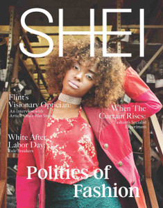 Politics of Fashion: We wanted a theme that would get our staff and our readers to think about fashion in new and exciting ways. Our goal is not to engage with the presidential election, or really to bring fashion into any political realm, but rather to cover the fashion industry in a journalistic and social-scientific way. We're focusing on game-changers within the fashion world, people who are using fashion as an instrument for social justice, taking a closer look at the inner workings of the industry, and covering in real time how it's changing!