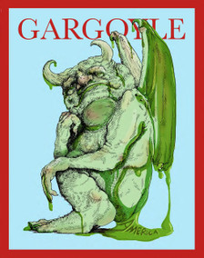 March 2017 issue of the Gargoyle magazine. 24 page mini-tab format.