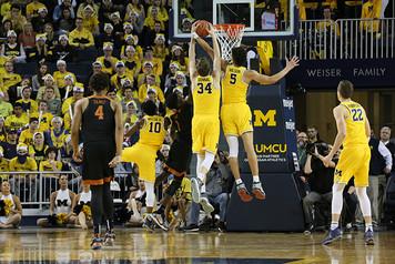 Michigan Men's Basketball vs Texas - 1