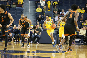 Michigan Men's Basketball vs Texas - 2