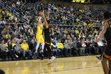 Michigan Men's Basketball vs Texas - 5