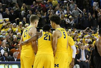 Michigan Men's Basketball vs Texas - 8