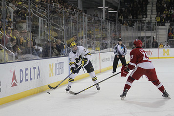 Michigan Ice Hockey vs Wisconsin - 4