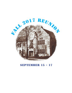 Reunion Weekend Events Ticket