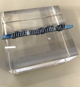 Michigan Daily Clear Square Paperweight