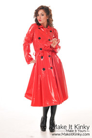 Skirted coat RA59