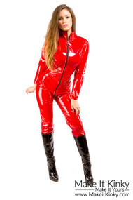 Stretch Vinyl Catsuit SU06ms