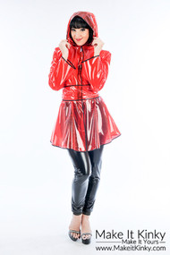 Designer Flared Raincoat -IN STOCK-