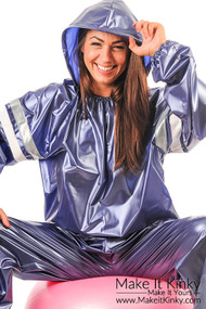 Unisex Sauna Suit with Hood -IN STOCK-