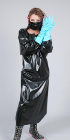 PVC Doctors Gown and Mask -IN STOCK-
