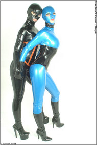 Ladies Latex Catsuit -IN STOCK-