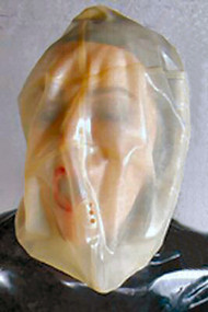 Latex Bag Style Hood -IN STOCK-