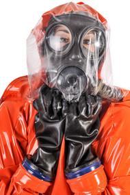 PVC Thick Orange HazChem Enclosure Suit -IN STOCK-
