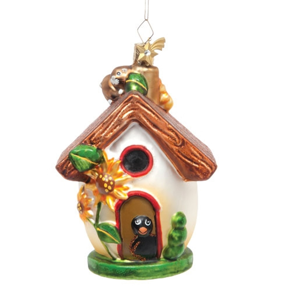 Green Summer Birdhouse