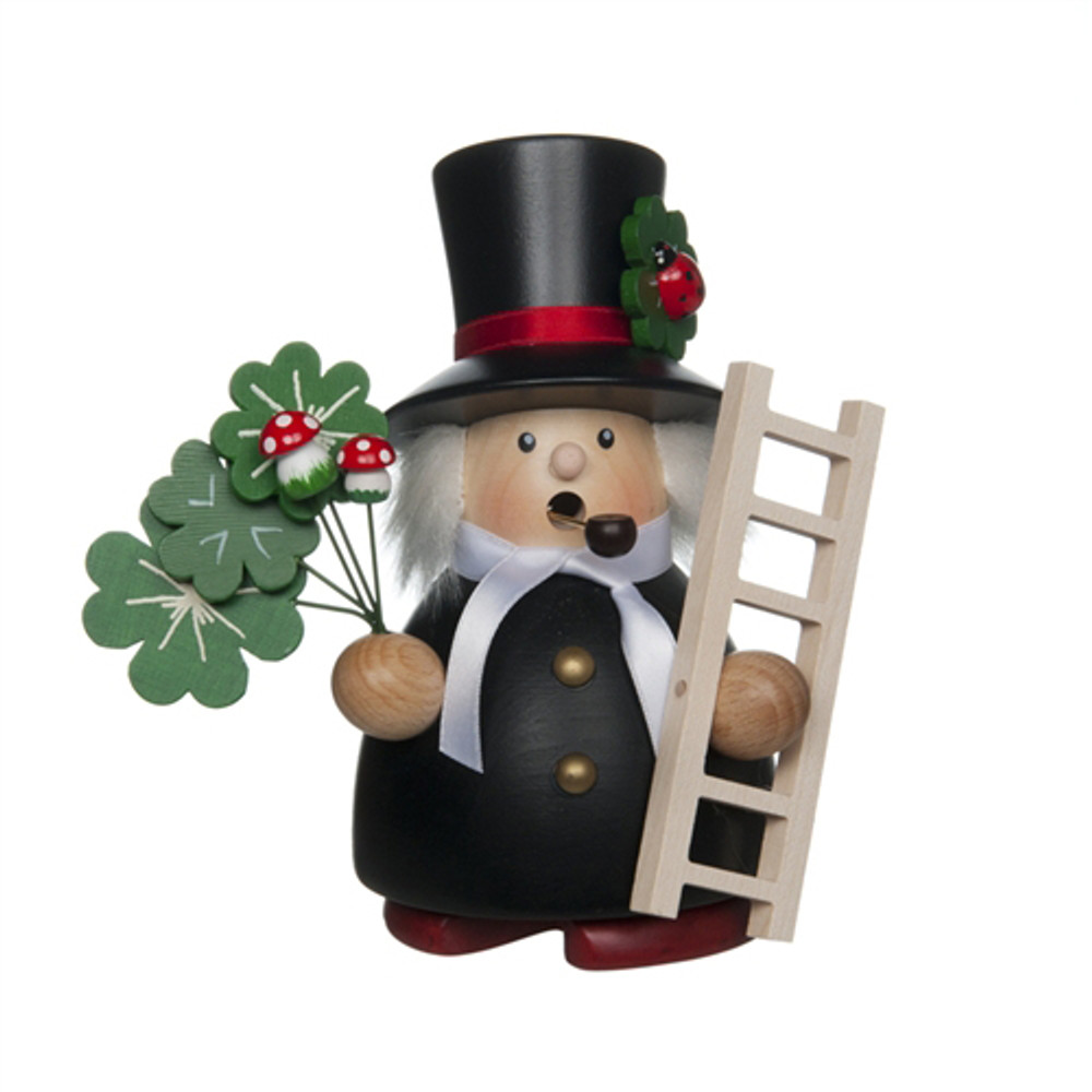 Chimney Sweep with Clovers
