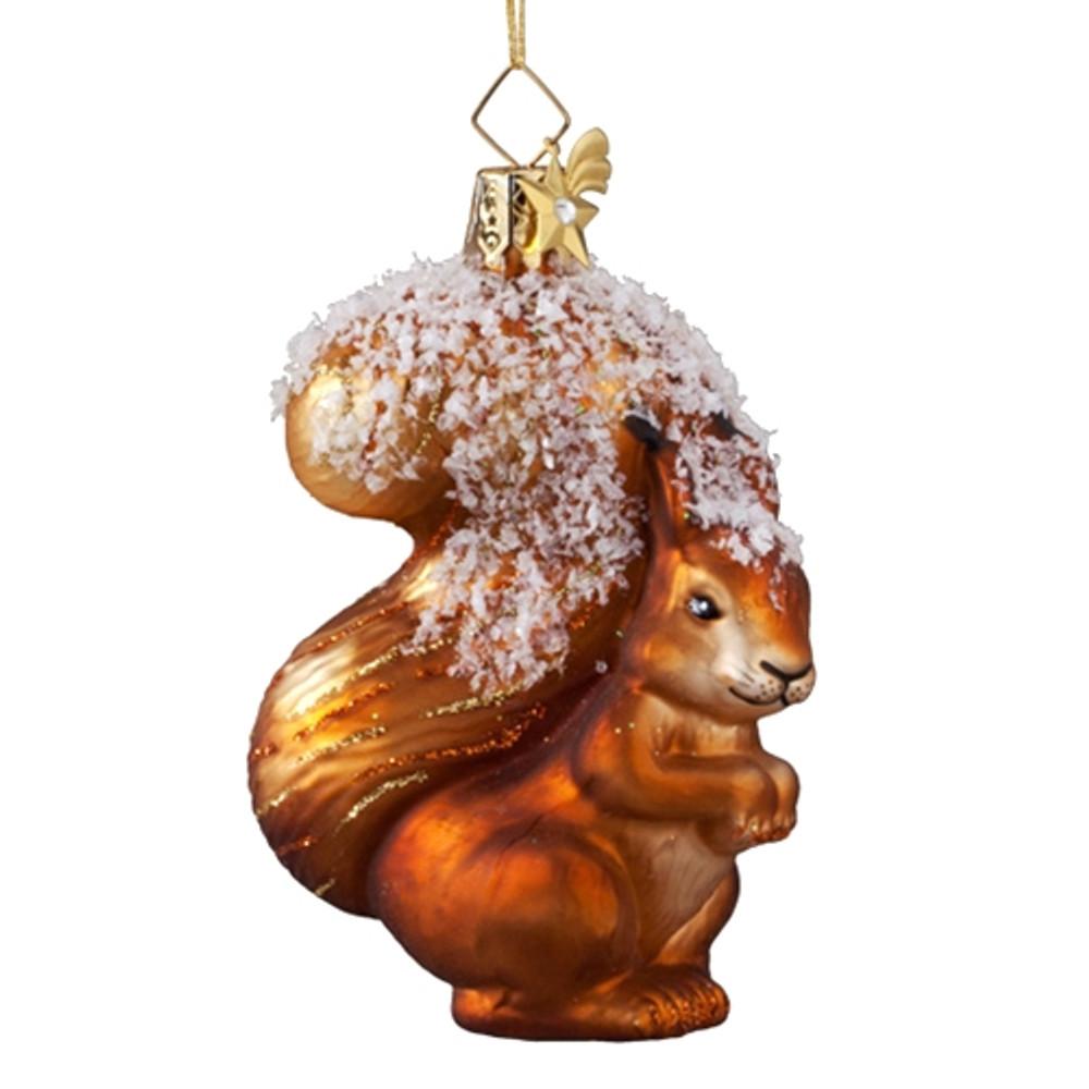 Snowy Squirrel