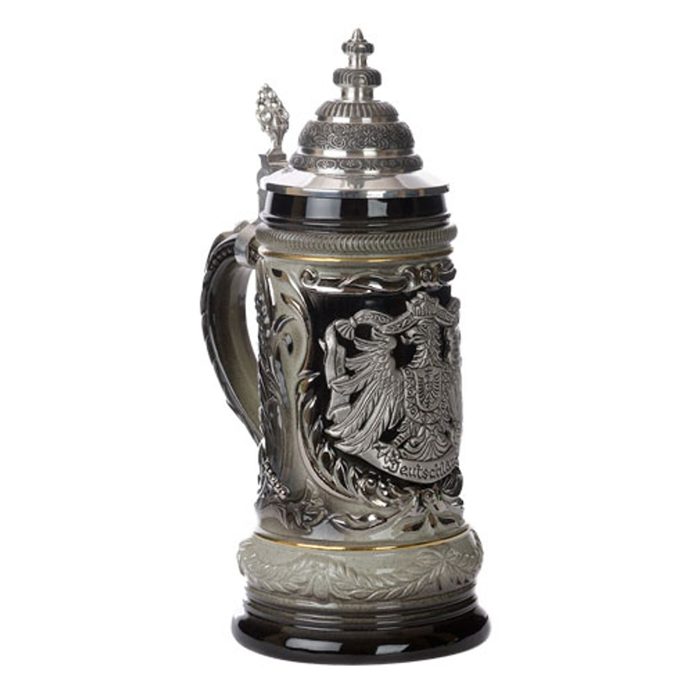 German Eagle Beer Stein