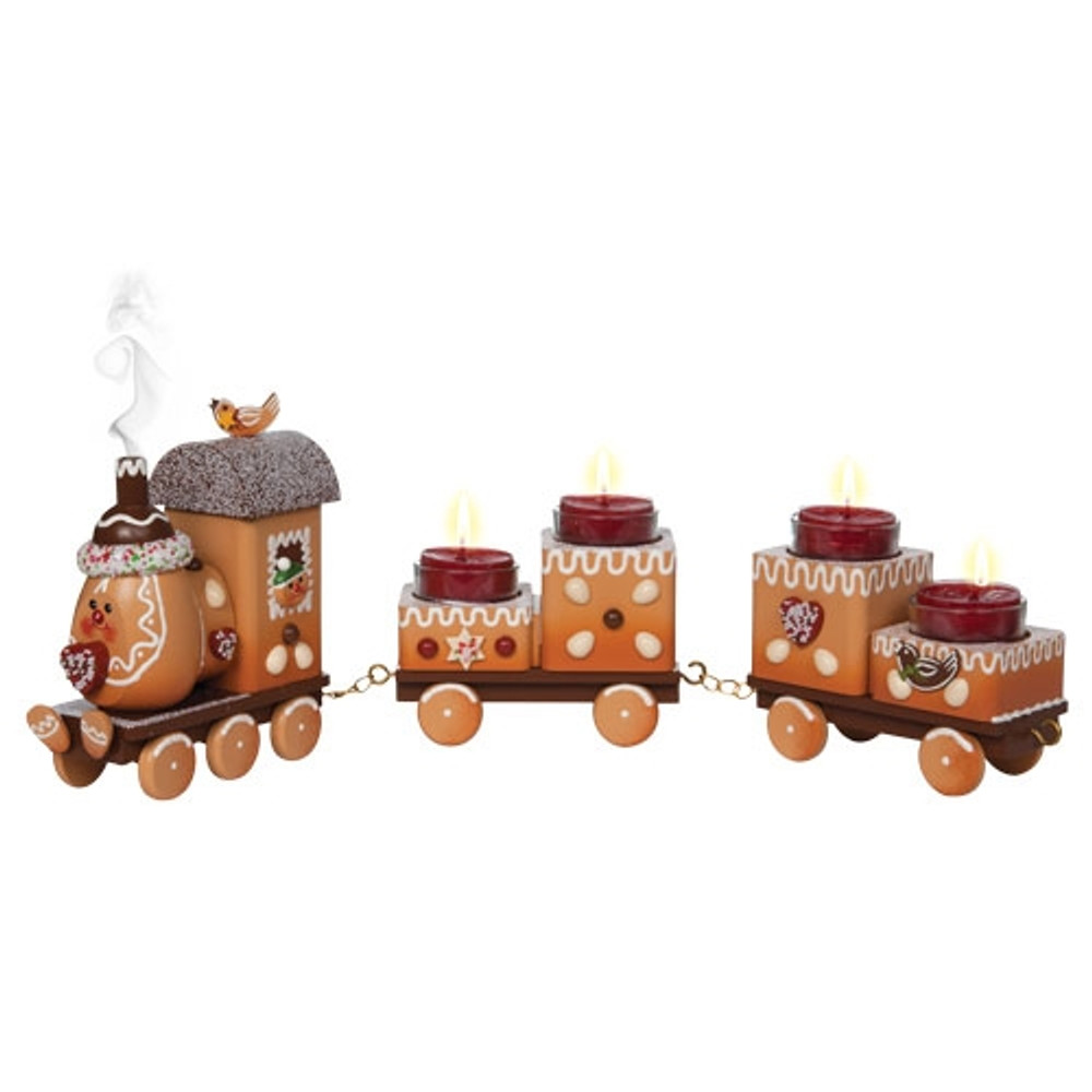 Smoky Gingerbread Advent Train