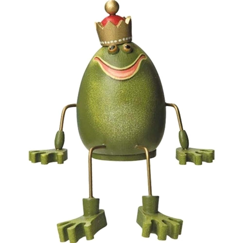 Sitting Frog King