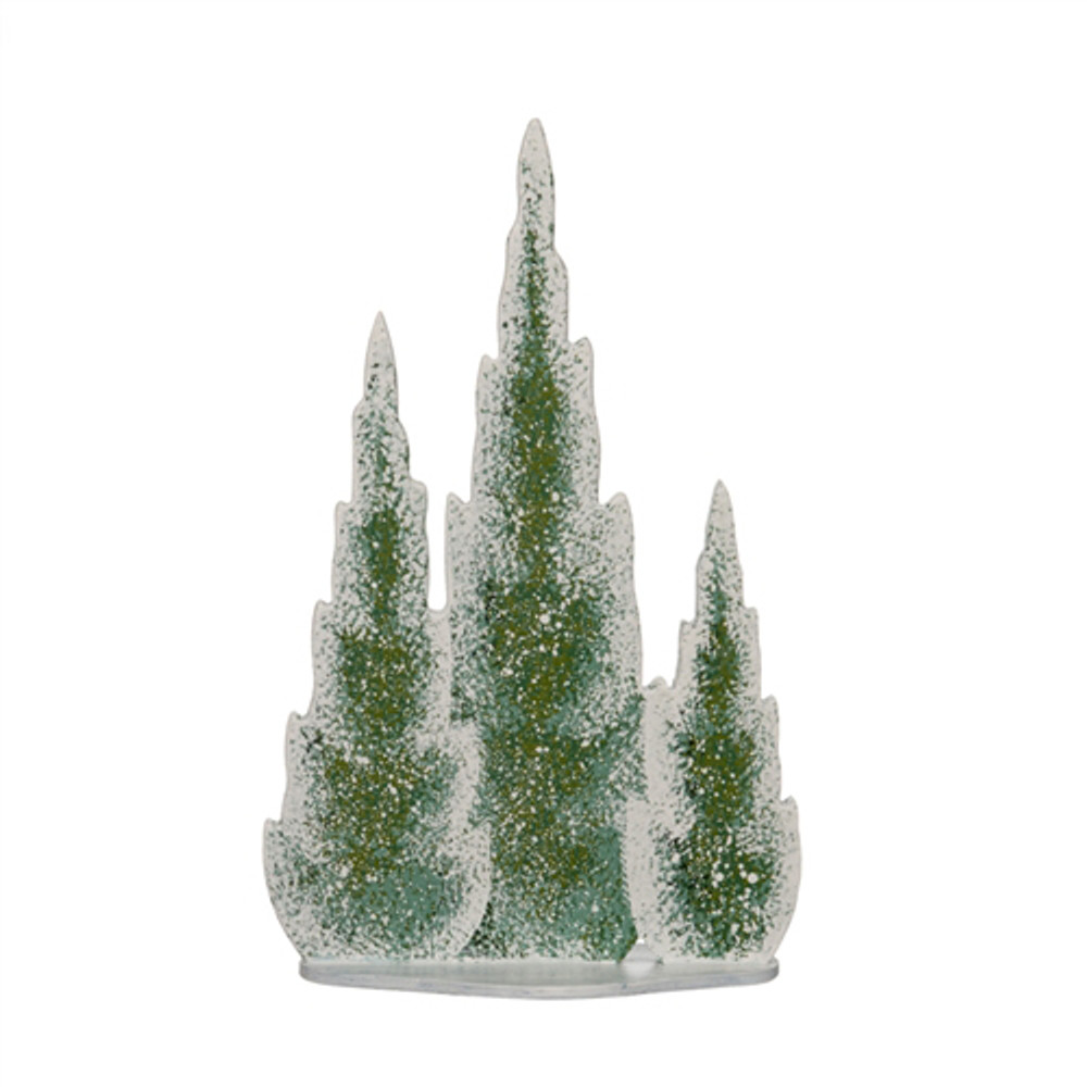 Winter Cypress Tree (on one base)