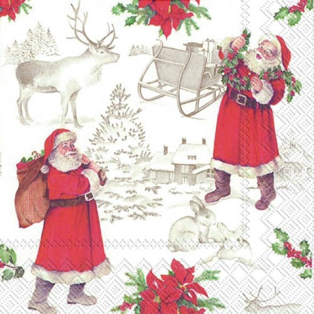 Santa Vintage Napkins