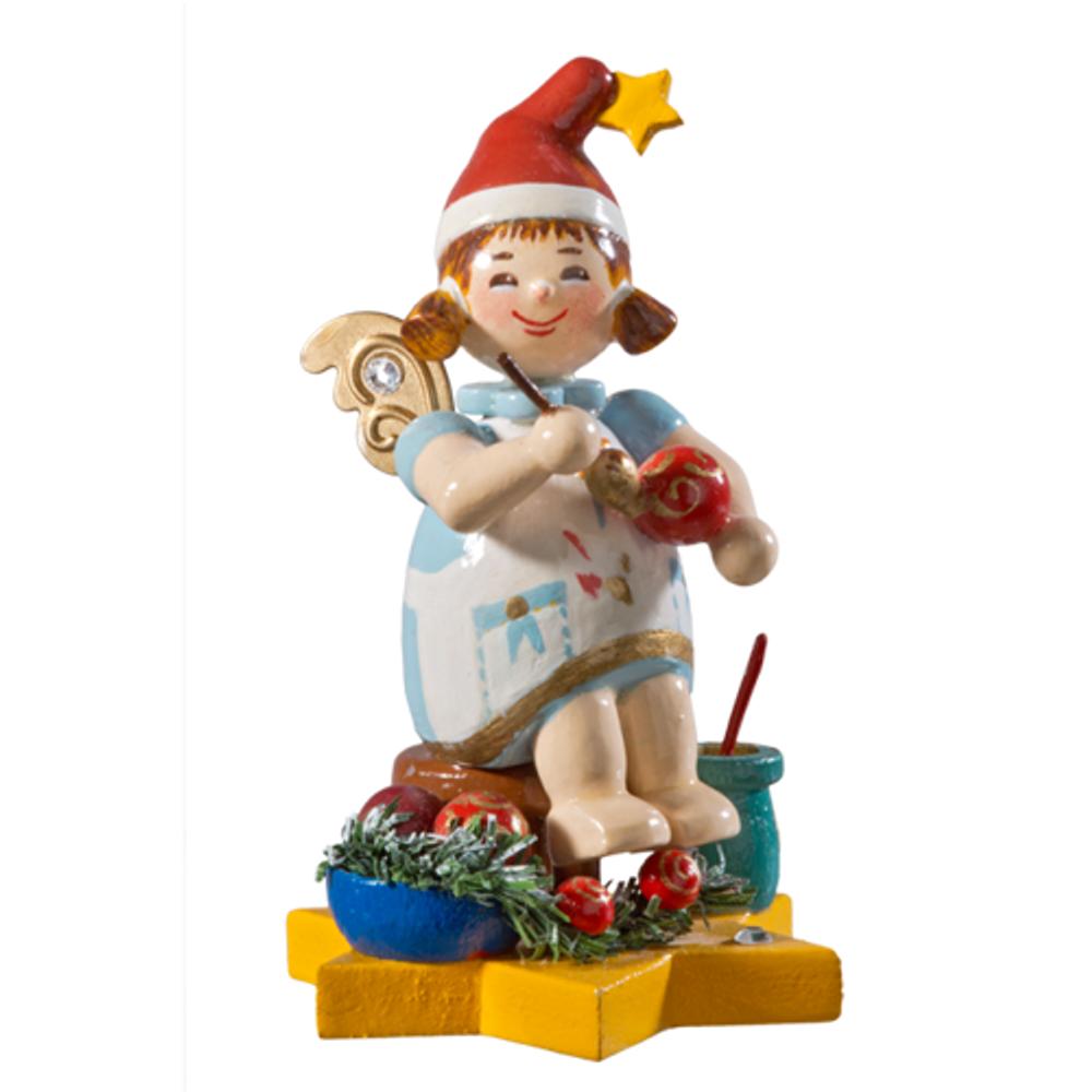 2016 Christmas Ball Artist Angelic Interlude Figurine