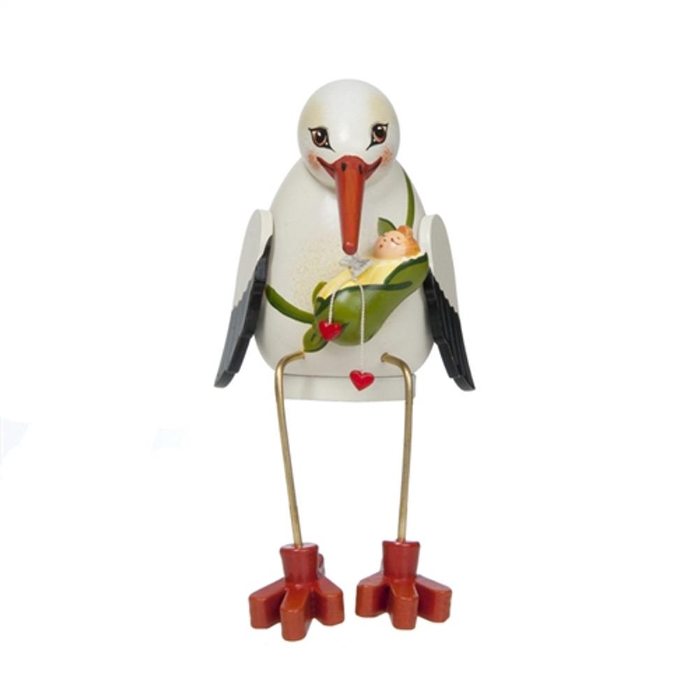 Sitting Stork