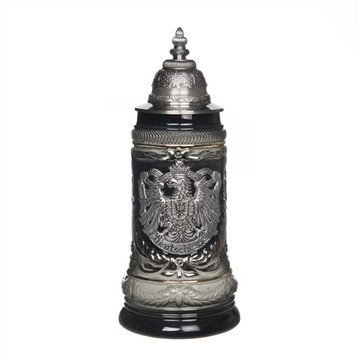 Pewter Eagle Beer Stein
