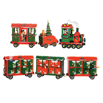 Christmas Express Train, all pieces