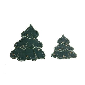 "Green Trees - 4-1/2"" x 4"""