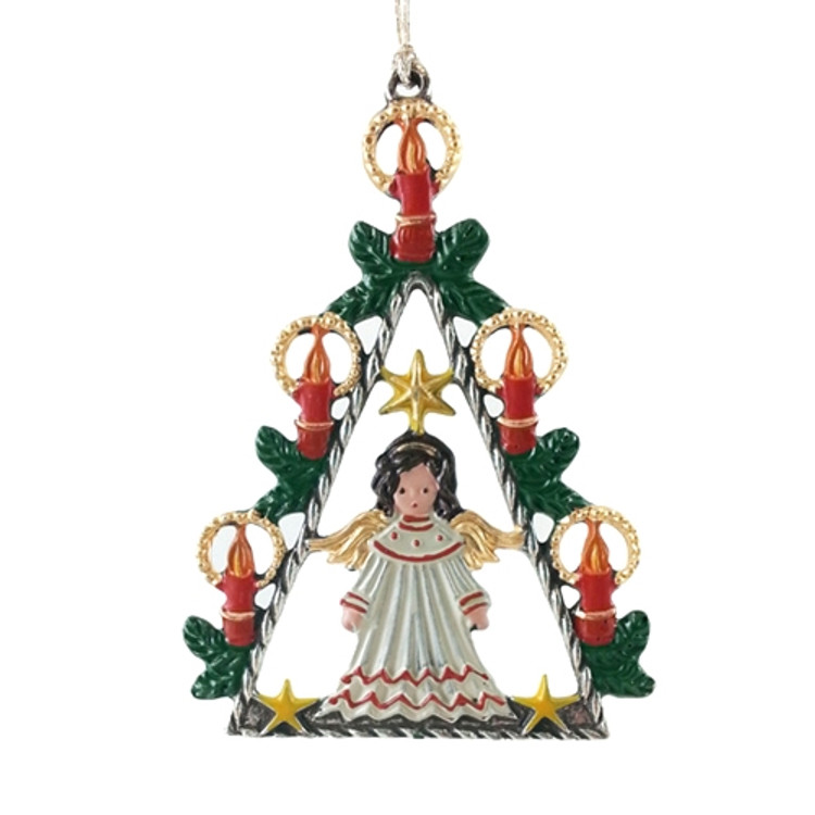 Angel with Candle Tree
