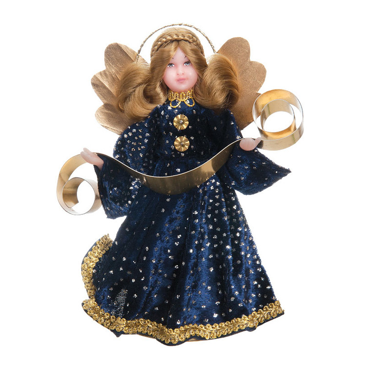 Blue Velvet Wax Angel