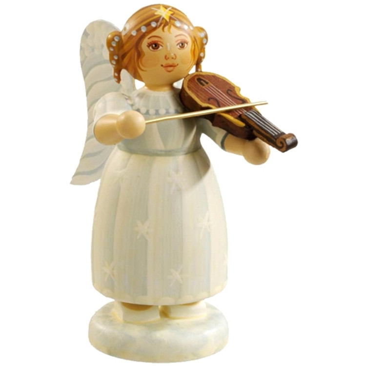 White Dress Angel with Violin