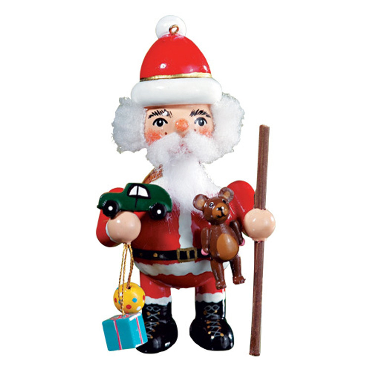 Santa Bringing Toys