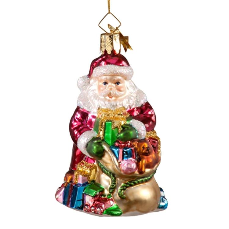 Santa Unpacking Gifts