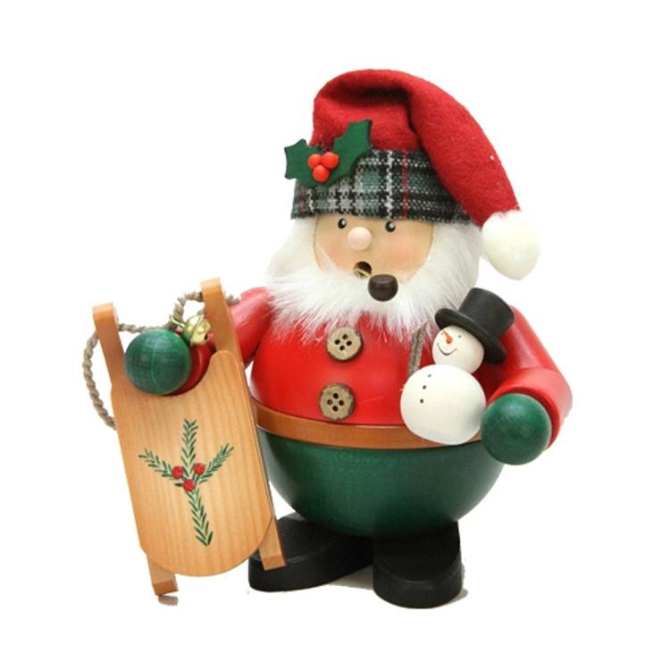 Santa with Sled