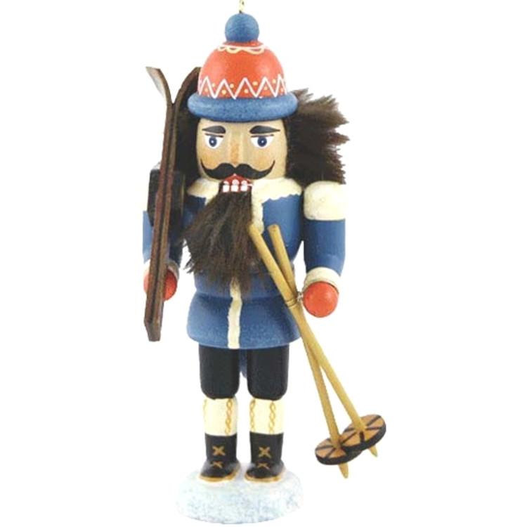 Blue Skier